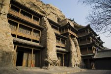 Free Chinese Ancient Architecture Royalty Free Stock Photo - 8473265