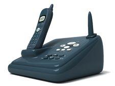 Free Cordless Phone Royalty Free Stock Photo - 8473595