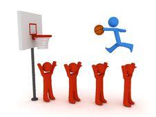 Free Slam Dunk Stock Image - 8474241