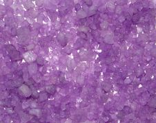 Free Background From Crystals Of Color Sea Salt. Royalty Free Stock Photo - 8474275