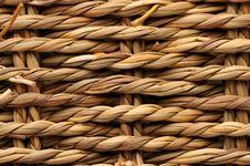 Woven Basket Texture Royalty Free Stock Photo