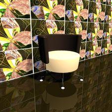 Free Interior 3d Max Royalty Free Stock Photos - 8474498