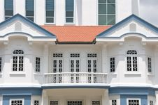 Free Colonial Style Architecture Royalty Free Stock Photography - 8474657