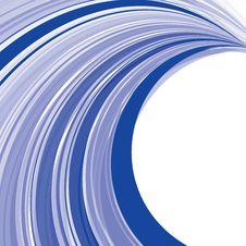 Free Blue Stripes Twist Stock Image - 8474771