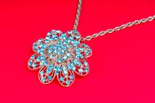 Free Diamond Pendant Stock Photography - 8475622