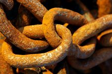 Free Rusty Chain Stock Photography - 8475922