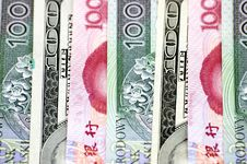Different Banknotes - Closeup Photo Royalty Free Stock Images