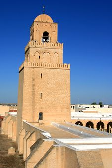 Free Kairouan Mosque Royalty Free Stock Images - 8476839