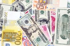 Free Different Banknotes - Background Stock Photos - 8476893