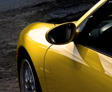 Free Sunny Yellow Car Stock Photos - 8477303