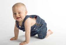 Beautiful Baby Boy Royalty Free Stock Images