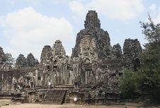 Free Bayon Of Angkor Thom Stock Image - 8477561