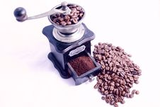 Free Coffee Grinder Stock Photo - 8478690