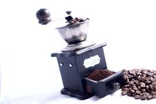 Free Coffee Grinder Royalty Free Stock Photos - 8478808