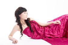 Asian Sexy Beauty Stock Image