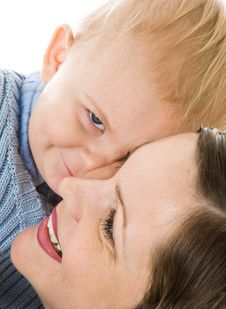 Free Mother And Son Stock Images - 8479304