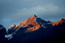 Day View Of Siguniang (Four Girls) Mountains Royalty Free Stock Photo