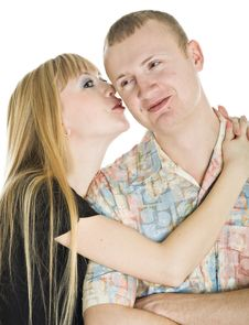 Free Young Couple In Love Stock Photo - 8479590
