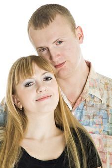 Free Young Couple In Love Stock Photos - 8479633