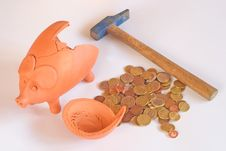 Free Piggy Bank Stock Image - 8479671