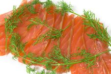 Free Salmon With Fennel Stock Images - 8479694