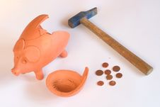 Free Piggy Bank Stock Photo - 8479790