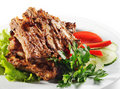 Free Beef (or Pork) Grilled Stock Photography - 8482052