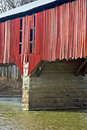 Free Red Covered Bridge Royalty Free Stock Photography - 8486367