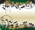 Free Floral Grunge Background Stock Image - 8489251