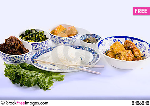 Free Asian Diner Royalty Free Stock Photos - 8486848