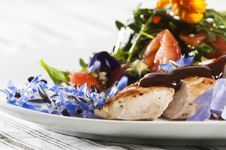 Free Grilled Chicken Royalty Free Stock Image - 8480116
