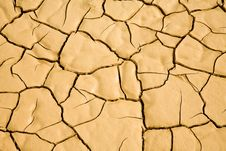 Free Desert Floor Natural Cracked Pattern Background Stock Image - 8480191
