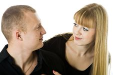 Free Young Couple In Love Stock Photo - 8480220