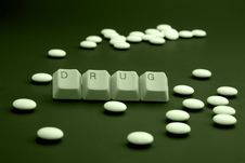 Free Drugs When You Are Ill Royalty Free Stock Images - 8480999