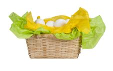Free Basket Of Eggs Royalty Free Stock Image - 8481006
