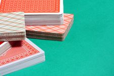 Free Deck Of Playing Cards Royalty Free Stock Photos - 8481078