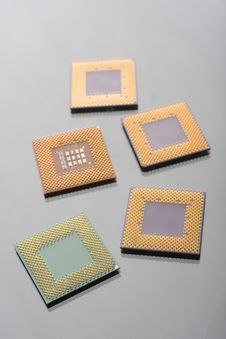 Free CPU Close Up Royalty Free Stock Photo - 8481215