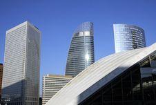 Free Modern Building In Paris Stock Photos - 8481263