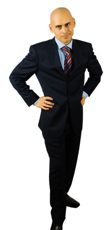 Free Portrait Of Hansome Businessman Royalty Free Stock Photography - 8481527