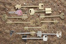 Free Keys Stock Photography - 8483182