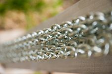 Free Parallel Chains Royalty Free Stock Image - 8483496
