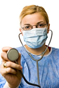 Free Woman Doctor Royalty Free Stock Image - 8483676