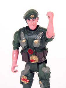 Free Toy Soldier Royalty Free Stock Image - 8484056