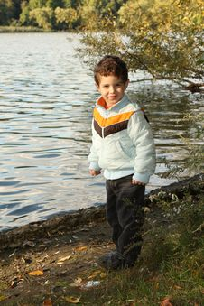 Free Young Boy At Park Royalty Free Stock Photography - 8484087