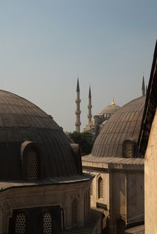 Free Blue Mosque Stock Photography - 8484582