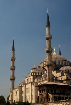 Free Blue Mosque Stock Photo - 8484900