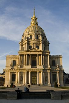 Free The Church Of Invalides In Paris Stock Photo - 8485090
