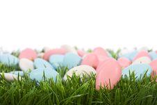 Easter Almonds Candy Stock Photos