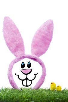 Illustration Of Funny Rabbit Royalty Free Stock Image