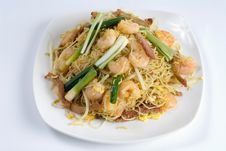 Stir-fry Shrimp Stock Images